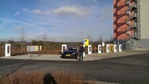 Tesla Supercharger Wilnsdorf